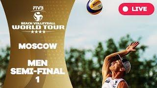 Download Moscow 4-Star - 2018 FIVB Beach Volleyball World Tour - Men Semi Final 1 Video