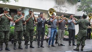 Download Flashmob de la Banda de Música de la V Región MIlitar Video