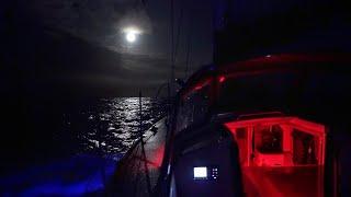 Download How we Sail at Night — DAY4 / North Atlantic Crossing | Sailing Uma [Step 192.04] Video