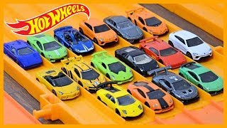Download HOT WHEELS 16 x LAMBORGHINI SUPER ELIMINATION TOURNAMENT Video