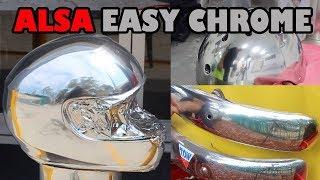 Download Easy Chrome Brush or Spray on Chrome Video