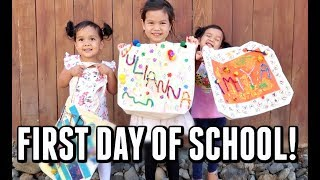 Download THEIR FIRST DAY OF SCHOOL! - September 12 2017 - ItsJudysLife Vlogs Video