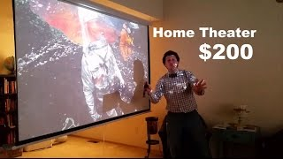 Download How To Set Up A Budget Home Theater For $200 Video