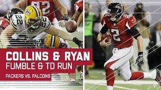 Download Collins Forced Fumble Leads to Matt Ryan TD Run!   Packers vs. Falcons   NFC Championship Highlights Video