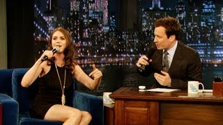 Download Alison Brie Freestyle Raps (Late Night with Jimmy Fallon) Video