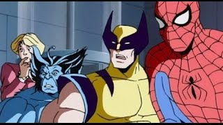 Download All Marvel's Cartoons of 1990s Intros [HD] Video
