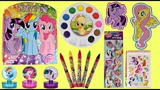 Download My Little Pony Activity Set with Water Color Paints & Crayons Video
