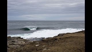 Download Hunting for Scottish Slabs with Pete Devries and Noah Cohen   SURFER   On Location Video