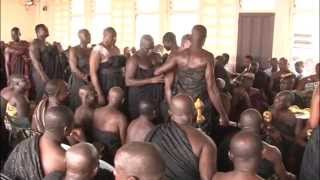 Download Swearing of Oath of Allegiance at Manyhia Palace Video