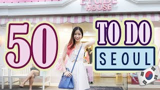 Download 50 Things to do in KOREA, SEOUL | SEOUL Travel Guide Video