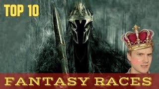 Download TOP 10 Fantasy Races Video