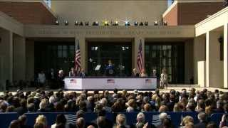 Download The George W. Bush Presidential Center Dedication Ceremony Video