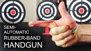 Download World's Simplest, Semi-Automatic, Rubber Band Handgun Video