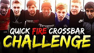 Download YOUTUBERS QUICK FIRE CROSSBAR CHALLENGE! Video