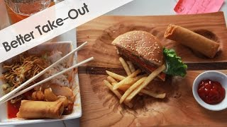 Download Carving a Piece of Wood for Take-Out Food Video