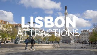 Download 10 Top Tourist Attractions in Lisbon - Travel Video Video