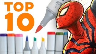 Download TOP 10 TIPS for COPIC MARKERS! Video