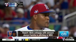 Download Mets unhappy with use of Jeurys Familia in World Baseball Classic Video