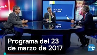 Download Programa del 23 de marzo 2017 - Es la Hora de Opinar Video