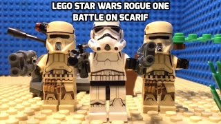 Download LEGO STAR WARS ROGUE ONE BATTLE ON SCARIF SCENE Video