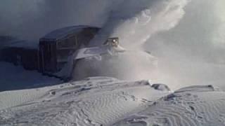 Download BNSF Snow Blower in Aurora, NE Video