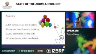 Download JWC15 - State of the Joomla! Project Video