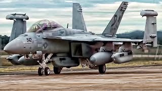 Download U.S. Navy EA-18G Growlers • Electronic Warfare Fighter Jets Video