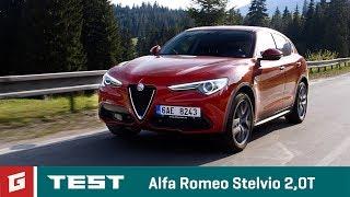 Download Alfa Romeo Stelvio SUV - TEST - GARÁŽ.TV - ENG SUB !!! Video
