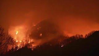 Download TDOT worker named 'hero' during Gatlinburg wildfires Video
