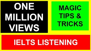 Download IELTS Listening Module (Magic Tips and Tricks) Video