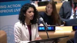 Download Keynote address of Trisha Shetty at ECOSOC Youth Forum 2017 Video