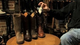 Download Round vs. Square Top Cowboy Boots : Cowboy Boots Video