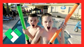 Download BACKYARD BIRTHDAY POOL PARTY! (Day 1506) | Clintus.tv Video