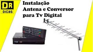 Download Tv Digital Antena e Conversor Instalação Passo a Passo - Doutor Dicas Video