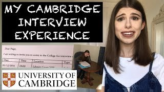 Download MY CAMBRIDGE INTERVIEW EXPERIENCE | STORYTIME & ADVICE Video