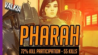 Download 72% Kill Participation, 55 Kills Skilled Pharah Gameplay || Overwatch Video