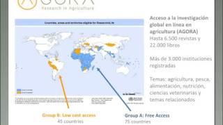 Download Investigación Bibliográfica sobre la Nutrición - Navegar por AGORA Video