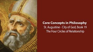 Download Augustine, City of God bk 19 | The Four Circles of Relationships | Philosophy Core Concepts Video