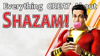 Download Everything GREAT About Shazam! Video