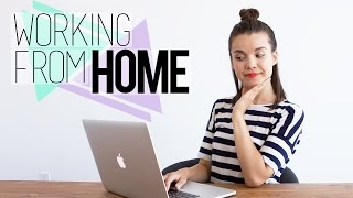 Download Working From Home // Tips for Staying Organized & Motivated Video