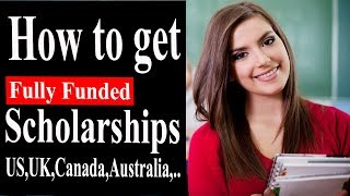 Download STUDY ABROAD SCHOLARSHIPS 2018 : How to get a Fully funded Scholarship Video