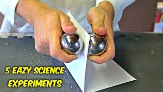 Download 5 Eazy Science Experiments You Can Do at Home Video