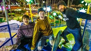 Download OVERNIGHT AT AN AMUSEMENT PARK! Video