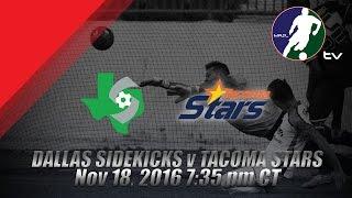 Download Dallas Sidekicks vs Tacoma Stars Video