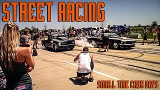 Download STREET RACING: Small Tire Cash Days Twin Turbo Firebird, Mustang, 2jz Corolla and more Video