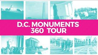Download Washington, DC Monuments 360° Video Tour Video