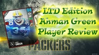 Download LTD Edition Ahman Green | Player Review | Madden 17 Ultimate Team Video