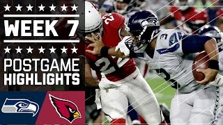 Download Seahawks vs. Cardinals | NFL Week 7 Game Highlights Video