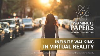Download Infinite Walking in Virtual Reality | Two Minute Papers #262 Video
