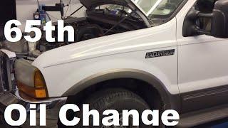 Download 325,000 Mile 7.3 Excursion Oil Change Video
